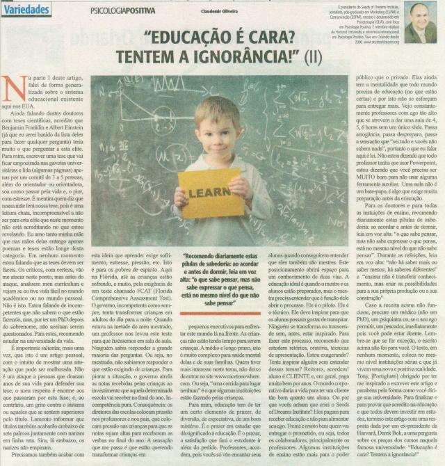 51 PP Educacao e Ignorancia JUN 2013 PART II
